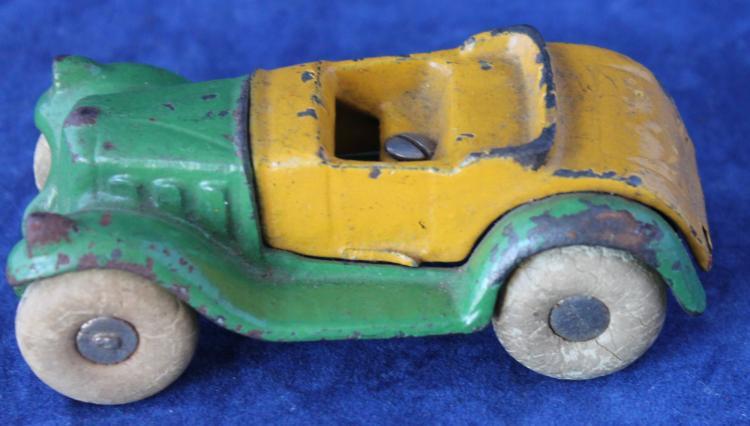 c1930's Arcade Brand Cast Iron Toy Car