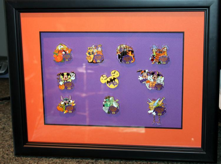 Walt Disney Mickey's Not So Scary Halloween Pin Collection 2008 #1