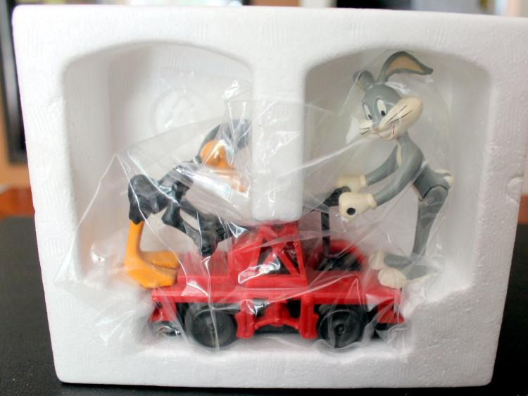 Lionel Trains Bugs And Daffy Hand Car #6-18416 In Original Box