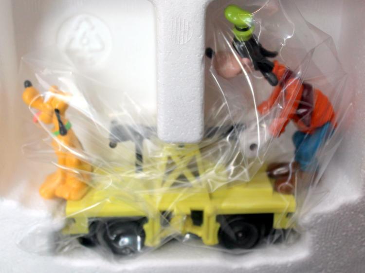 Lionel Trains Goofy & Pluto Hand Car #6-18425 In Original Box