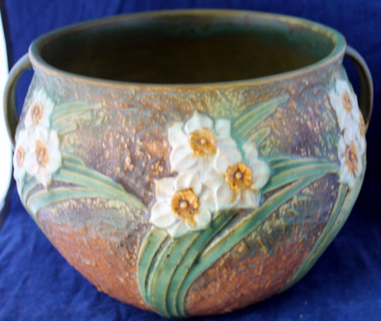 Roseville Pottery Jonquil 8 Inch Jardinière USA