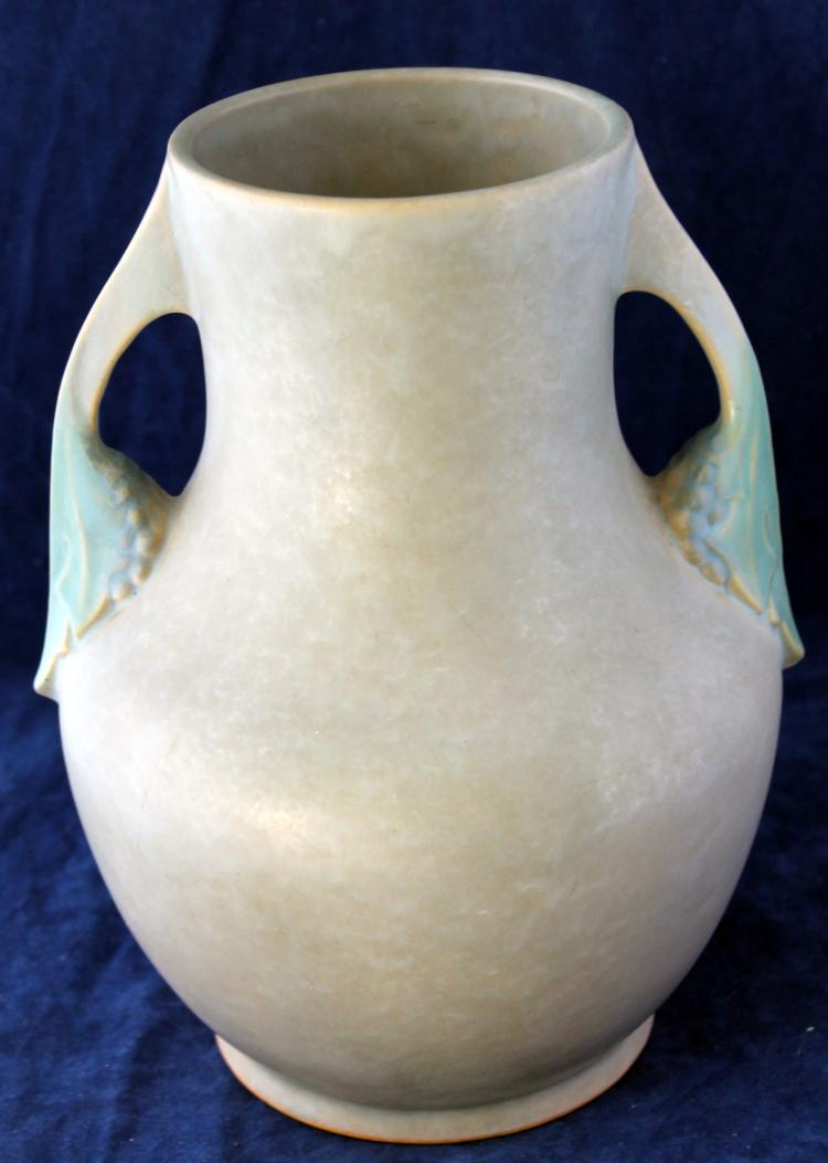 Roseville Pottery Tuscany Vase #346-9 Inch USA With Original Paper Label