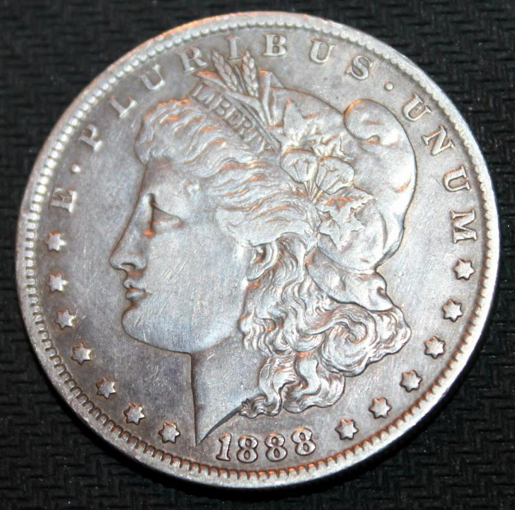 1888-O Morgan Silver Dollar Coin VF-20