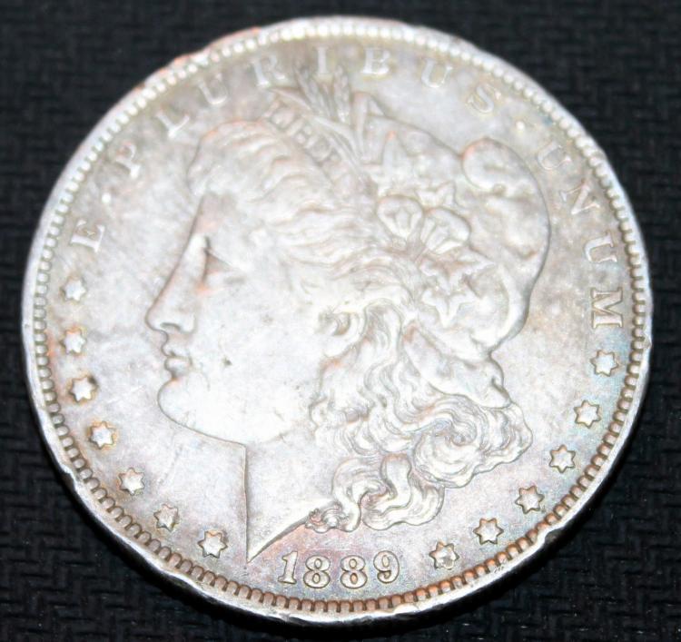 1889-O Morgan Silver Dollar Coin VF-20