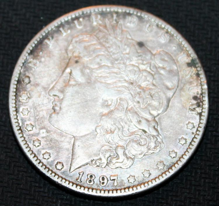 1897-O Morgan Silver Dollar Coin VF-20