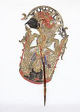 Large Indonesian Shadow Puppet