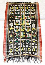 Large Naga NE Indian Woven Tribal Cloth