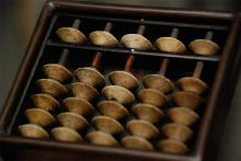 Japanese Miniature Abacus