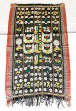 Large Naga NE Indian Woven Tribal Cloth
