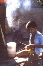 Honduran  Basket Weaving