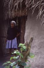 Elder in Doorway