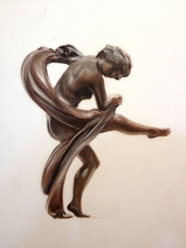 Scarf Dancer -Art Deco
