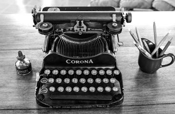 Hemingway's Typewriter, Finca Vigia, Cuba