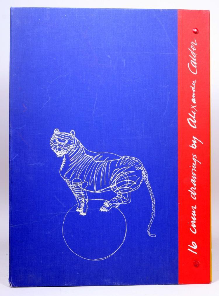 16 Circus Drawings [Calder's Circus]