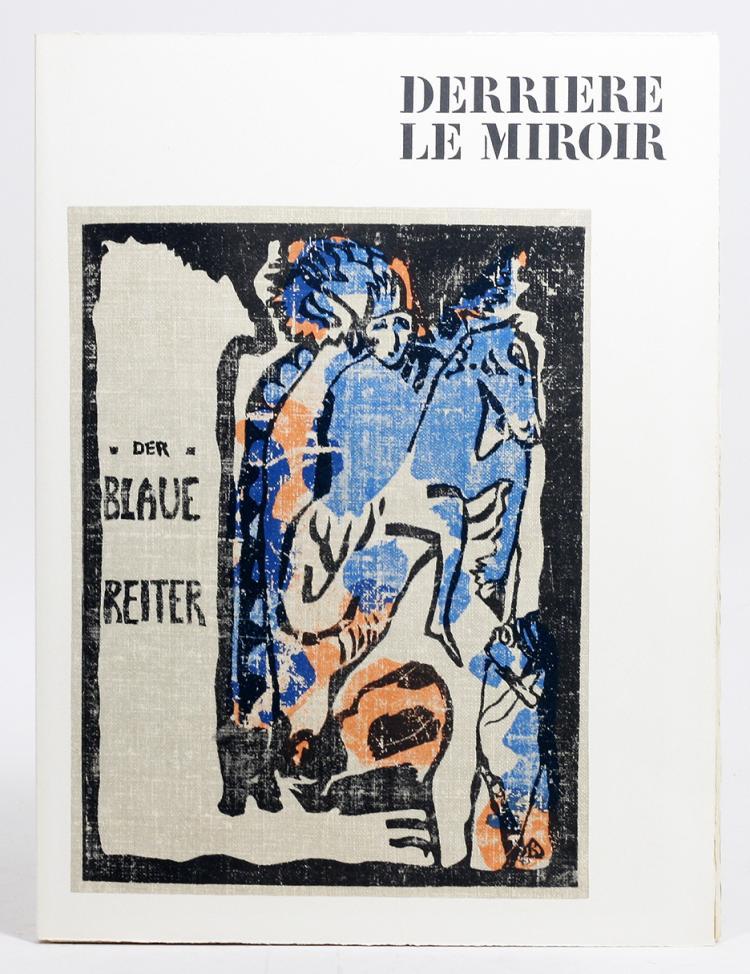 Derri re le miroir 133 134 der blaue reiter for Le miroir dijon