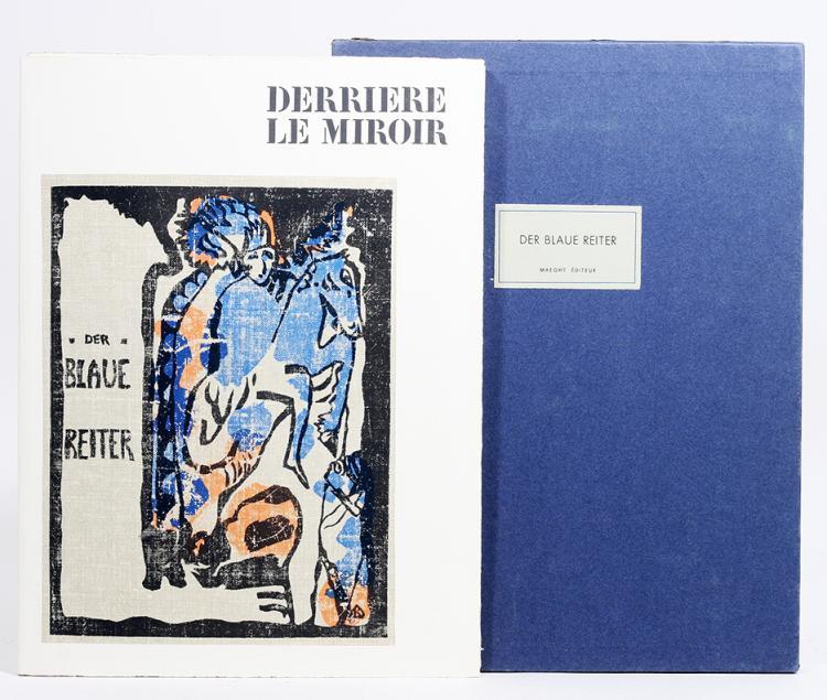 Derri?re le Miroir 133/134. Der Blaue Reiter.