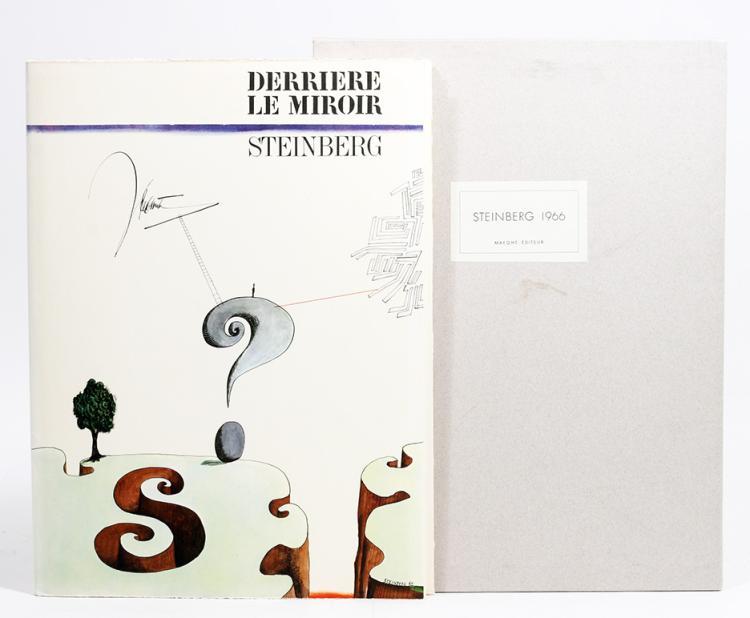 Derri?re le Miroir 157. Steinberg 1966.