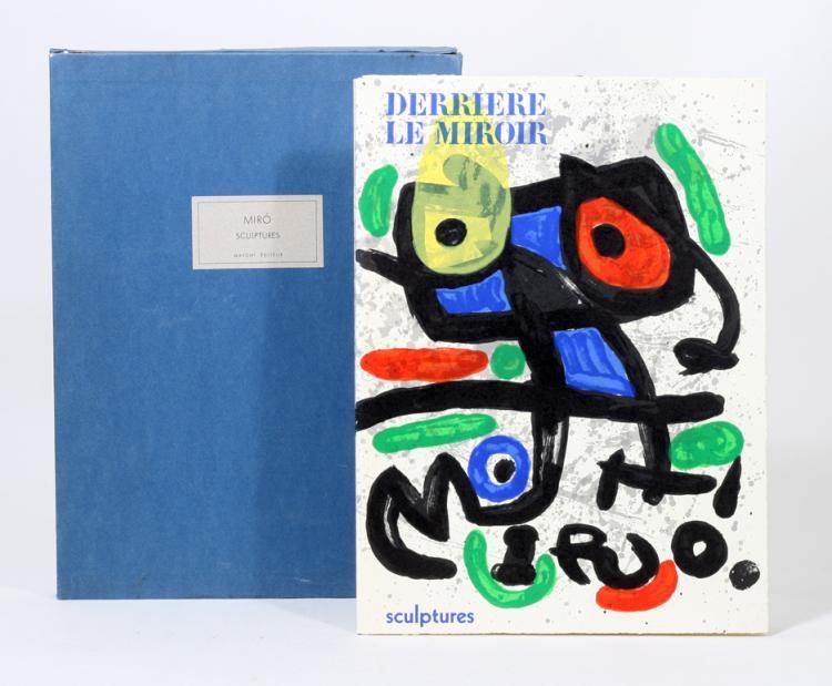 Sculptures. Derriere Le Miroir: Special Number 186