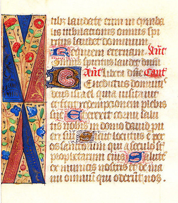 Illuminated Manuscript: