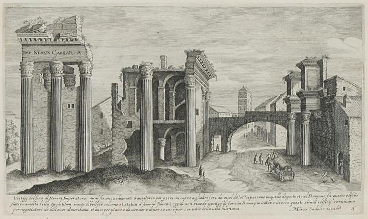 Vestigi delle antichita di Roma Tivoli Pozzuolo et altri luochi