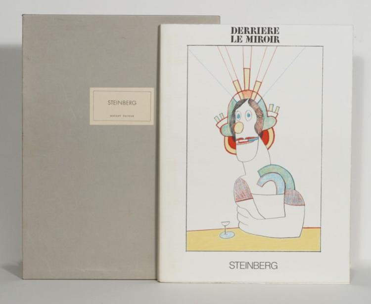 Derriere le Miroir. Saul Steinberg. Special Number 224