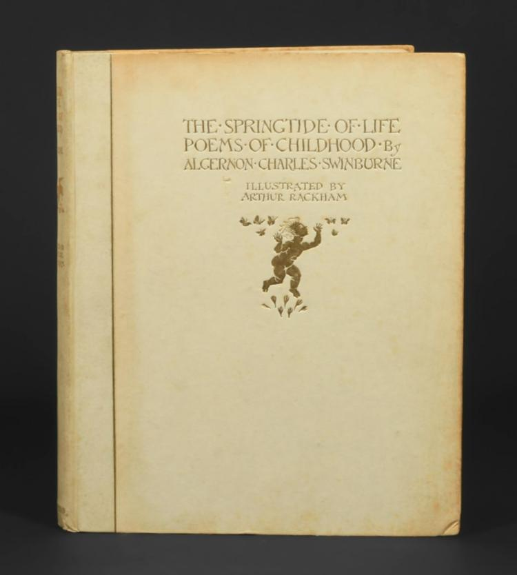 The Springtide of Life. Poems of Childhood by Algernon Charles Swinburne.