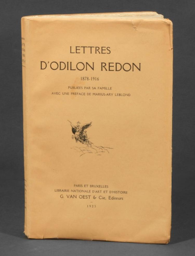 Lettres D'Odilon Redon