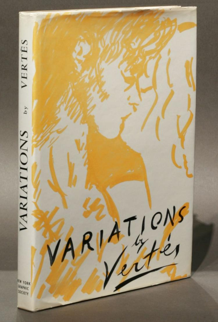 Variations: Drawings, water colors, etchings and lithographs by Vert?s