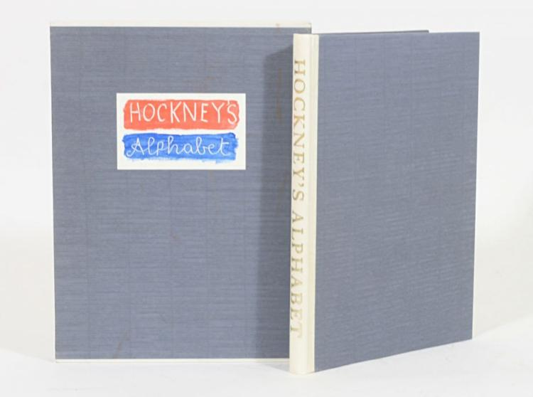 Hockney's Alphabet. Drawings by David Hockney & Written contributions edited by Stephen Spender