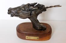 Carl Wagner (1938 - 2011),  Thoroughbred, Bronze scultpure