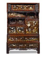 Japanese Meiji-Period Cabinet