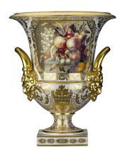 Derby Porcelain Campana Vase