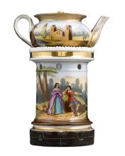 French Porcelain Veilleuse