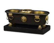Classical Gilt Bronze Ink Stand