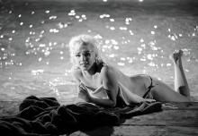 Limited Edition Photograph of Marilyn Monroe Poolside by Lawrence