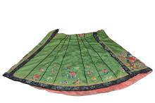 A embroidered womens skirt