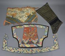 COLLECTION OF VARIOUS CHINESE TEXTILES