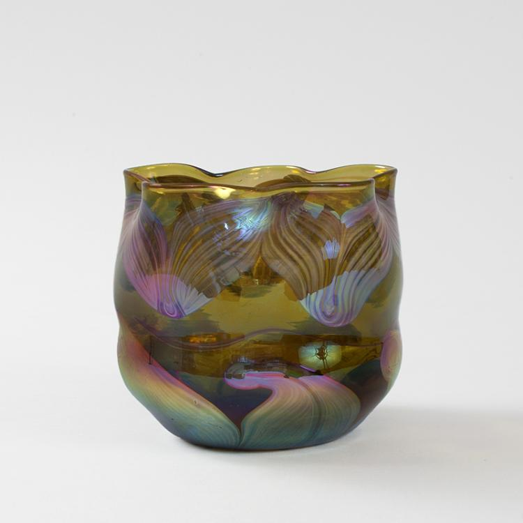 Tiffany Studios New York Glass Vase