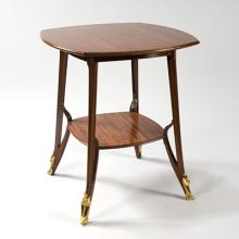 Majorelle Table with Detailed Border