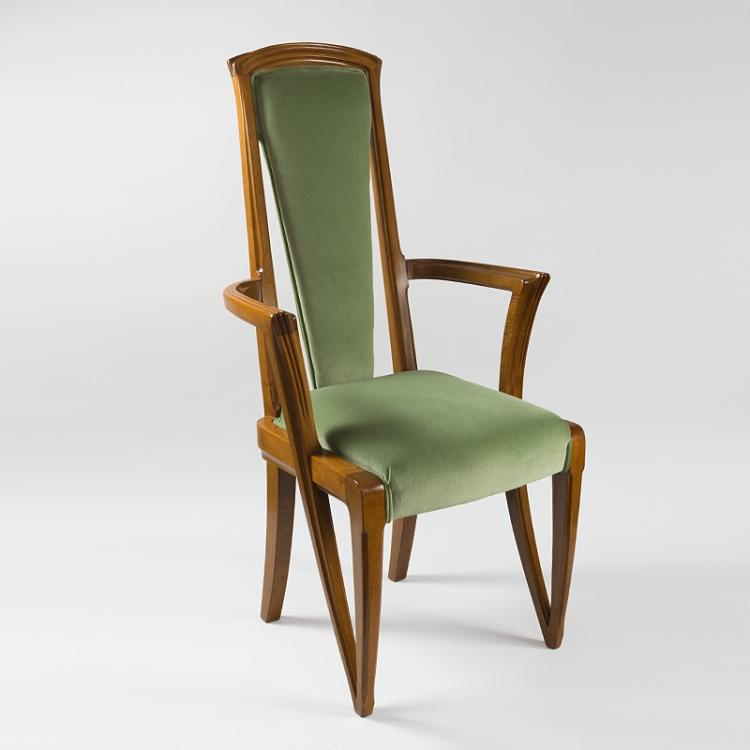 French Art Nouveau Armchair by Majorelle