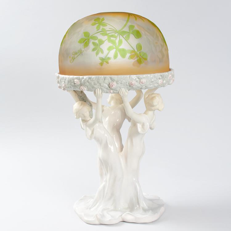 Gallé Lamp – Celebration of Spring