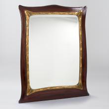 French Art Nouveau Mirror by Guimard
