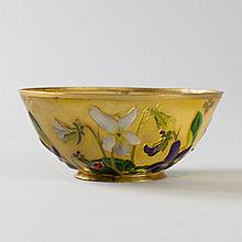 Petite Coupe Sur in Enamel and Gold by Thesmar