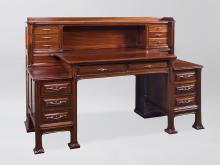 French Art Nouveau Desk by Selmerscheim