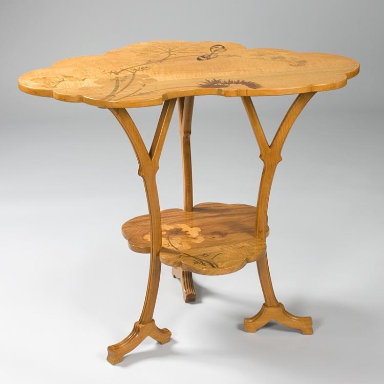 French Art Nouveau Wooden