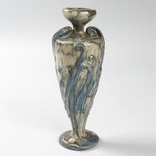 French Art Nouveau Ceramic Urn by Majorelle & Mougin