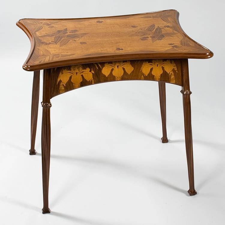 French Art Nouveau Table by Majorelle