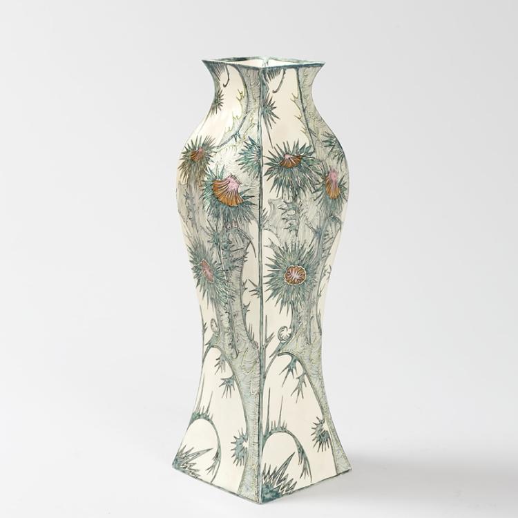 Dutch Jugendstil Vase by Samuel Schellink for Rozenburg