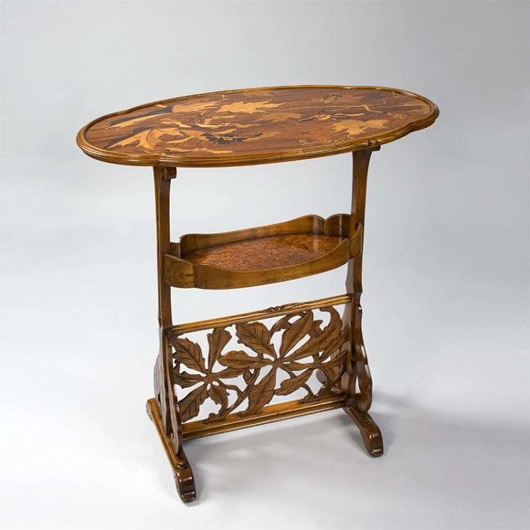A French Art Nouveau Table by Gallé