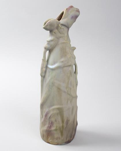 French Art Nouveau Ceramic Vase by Bussière